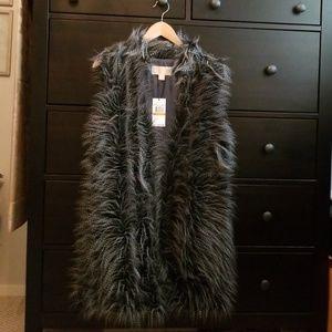 Michael Kors faux fur vest